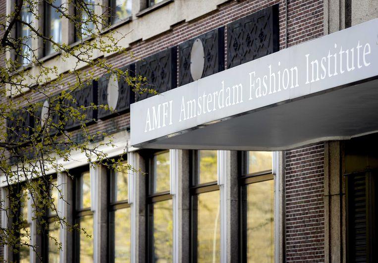 Het Amsterdam Fashion Institute (Amfi) was de laatste maanden negatief in het nieuws. Studenten spreken van een angstcultuur.  Beeld ANP
