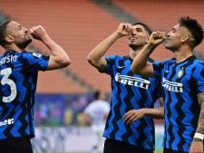 Kampioen Inter haalt zonder De Vrij uit, Napoli legt druk bij concurrenten en Lazio onderuit