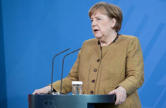 Bondskanselier Merkel.