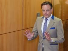 """Bart De Wever: """"Pas de garantie de succès, mais il faut explorer la piste"""""""