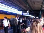 Door warmte gestremd treinverkeer weer op gang