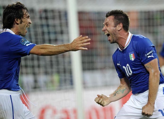Antonio Cassano speelde 38 interlands voor Italië.