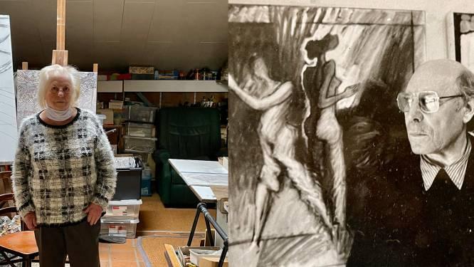 """Kunstenaar Fons Verstreken is er al tien jaar niet meer, maar zijn weduwe houdt zijn atelier zoals het is: """"Ik kan geen afscheid nemen van zijn werken"""""""