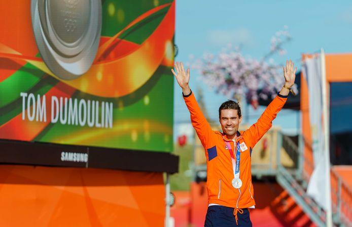 Zilver: Tom Dumoulin (wielrennen, individuele tijdrit, mannen)