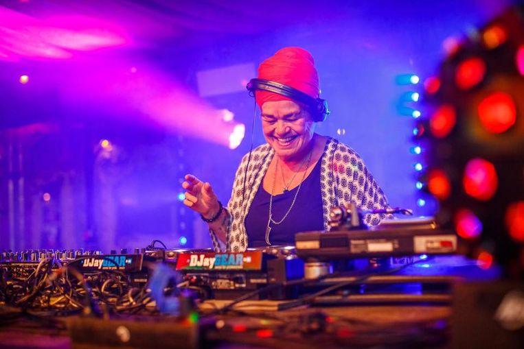 Aïda Spaninks, ofwel dj Lady Aïda Beeld