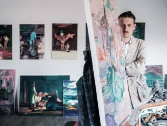 """Bent Van Looy debuteert als schilder: """"Ik heb moeten leren om onbeschaamd lelijk te zijn"""""""