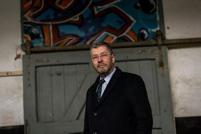 Stichtingvoorzitter Frank van Setten hoopt dat er eind deze maand een bouwvergunning komt voor het station in Vorden. ,,Zodra we daar zekerheid over hebben, kunnen we eindelijk doorpakken.''