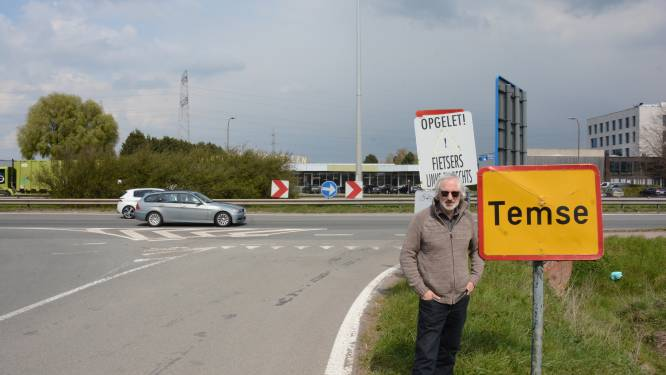 """Bewoners protesteren tegen afsluiten kruispunten N16: """"Verkeersdrukte in centrum zal alleen maar toenemen"""""""