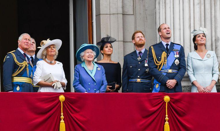 Buckingham Palace vindt staf niet divers genoeg: koningshuis stelt diversiteitsquotum in Beeld WireImage