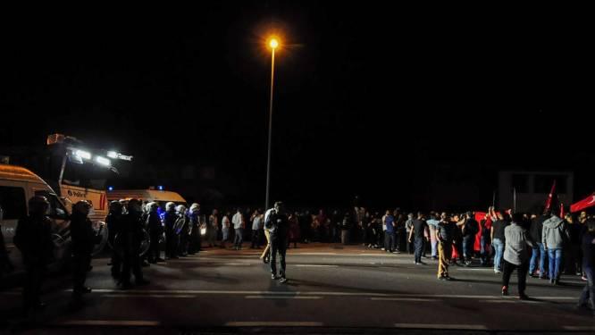 Voor derde avond op rij straatprotest in Beringen