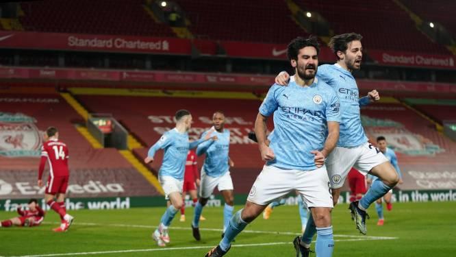 Efficiënt Manchester City bezorgt Liverpool pijnlijke avond: 'Reds' verliezen opnieuw in eigen huis