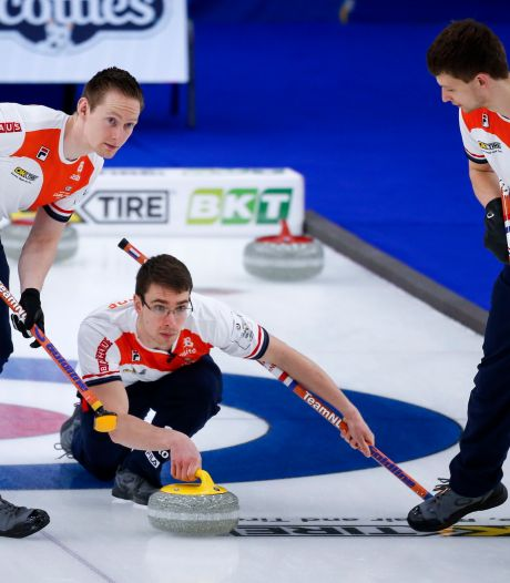 Vierde nederlaag op rij voor curlingmannen op WK