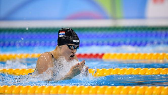 Zilver voor Zwijndrechtse zwemster Chantalle Zijderveld op Paralympics: 'Ik ben superblij, kan wel janken'
