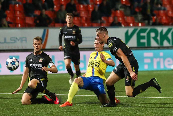 """Jeroen Veldmate (links): ,,De goal was geen toeval."""""""