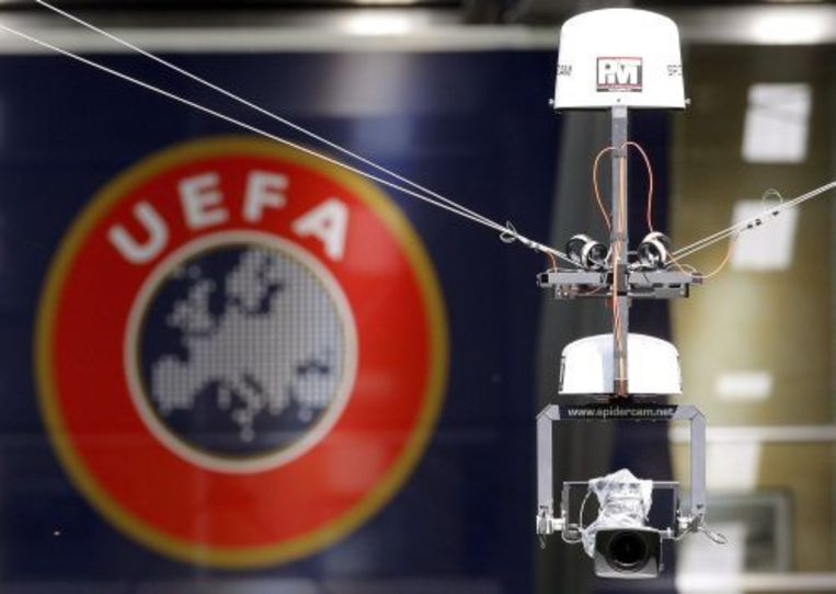 De tuchtcommissie van de UEFA heeft scheidsrechter Novo Panic uit Bosnië-Herzegovina levenslang geschorst. ANP Beeld