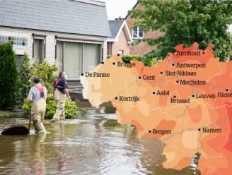 IN KAART. Waar regent en onweert het het meest? En hoe komt dat? Weerman David Dehenauw legt het uit