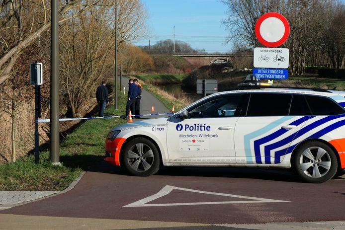 Langs de fietsostrade in Mechelen werden beenderen gevonden.