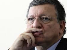 Manifestation à Liège lors de la visite de M. Barroso