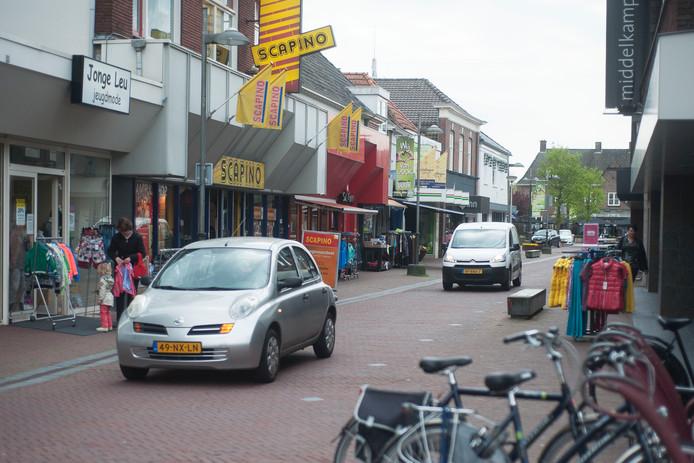 Deel van de Grotestraat in Goor FOTO: Marieke Bakker