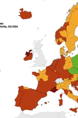 Goed nieuws voor wie nog op vakantie wil: Europese coronakaart minder rood. Dit is waar je naartoe kan