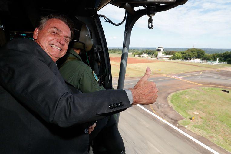 Het parlementaire onderzoek zal Bolsonaro vrijwel zeker maandenlang negatieve publiciteit opleveren. Beeld EPA
