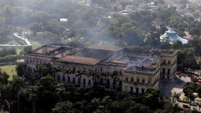 Brazilianen protesteren tegen wanbeheer nadat hele collectie van Nationaal Museum in vlammen opgaat