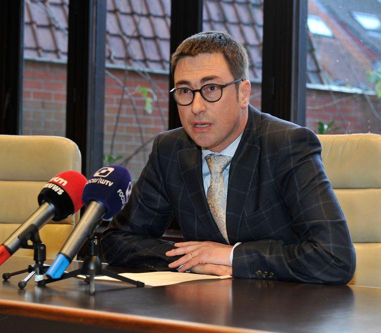 Archieffoto. Procureur Frank Demeester van het parket van West-Vlaanderen, afdeling Brugge.