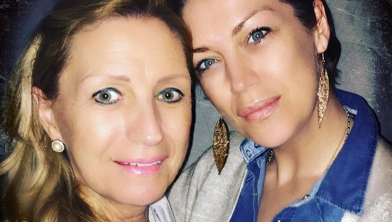 Carmen en haar dochter Kelly Pfaff.