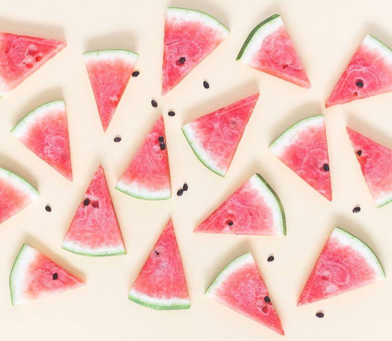 Watermeloenpizza Beeld Getty Images