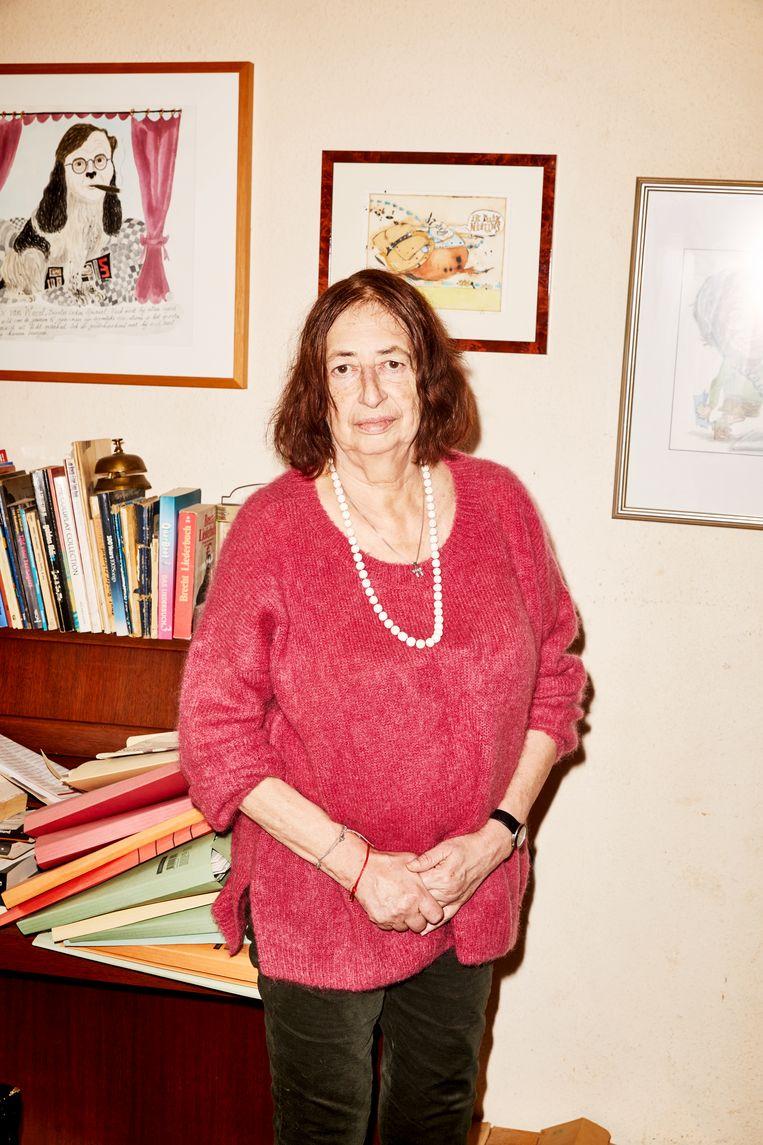 Anet Bleich: 'Tijdens het schrijven hadden we ook veel discussie, maar altijd op een constructieve manier.' Beeld Marie Wanders