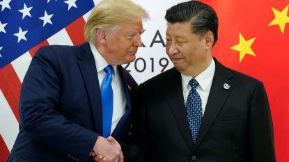 Trump en Xi akkoord om handelsgesprekken weer op te starten