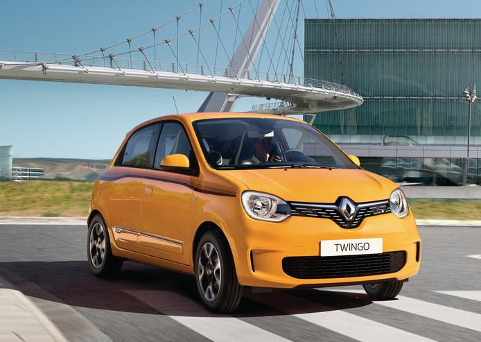 De Renault Twingo onderging onder meer een facelift
