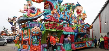 Carnavalsoptocht Kwadendamme en Lewedorp afgelast door harde wind; ook in gemeente Hulst rijden geen wagens mee in optochten