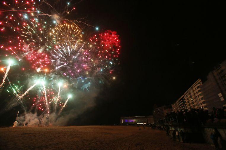 Vuurwerk op het strand: een discussie waard in de Koksijdse gemeenteraad