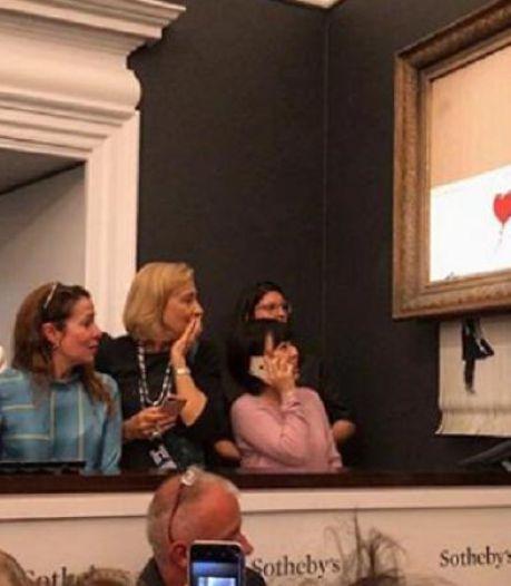 """""""Banksy n'a pas détruit une oeuvre, il en a créé une"""""""