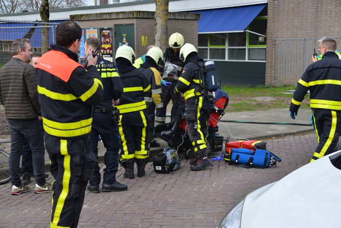 Vrouw gewond aan Jacob Catssingel in Breda.
