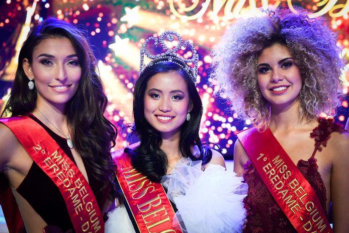 Dhenia Covens werd tweede eredame bij de 'Miss België'-verkiezing in 2018