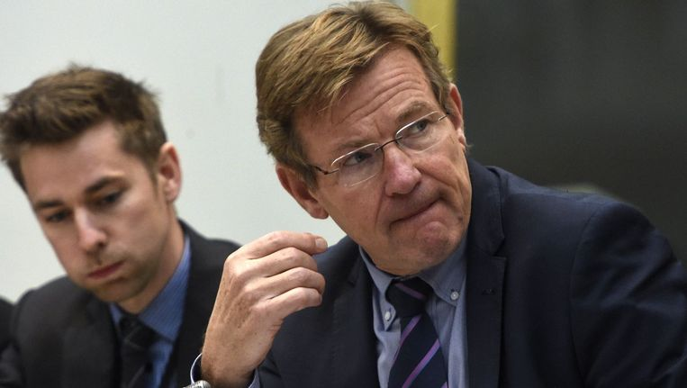 Minister van Financiën Johan Van Overtveldt zal er