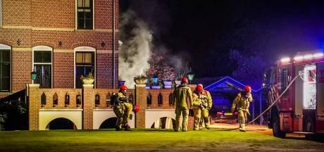 Brandweer voorkomt erger bij kelderbrand in villa in Aarle-Rixtel
