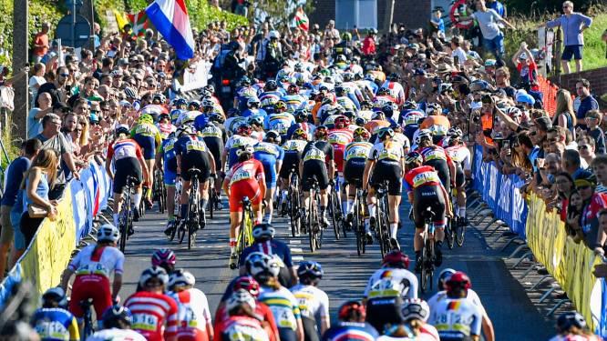 IN BEELD. WK wielrennen brengt massa volk op de been