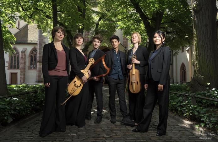 Het Sollazzo Ensemble brengt tijdens Laus Polyphoniae muziek die klonk aan het Hof van Maria van Bourgondië.