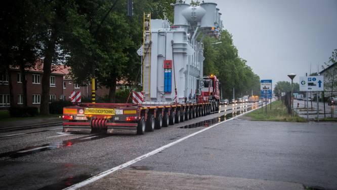 E313 vannacht volledig afgesloten voor transport van gigantische transformator