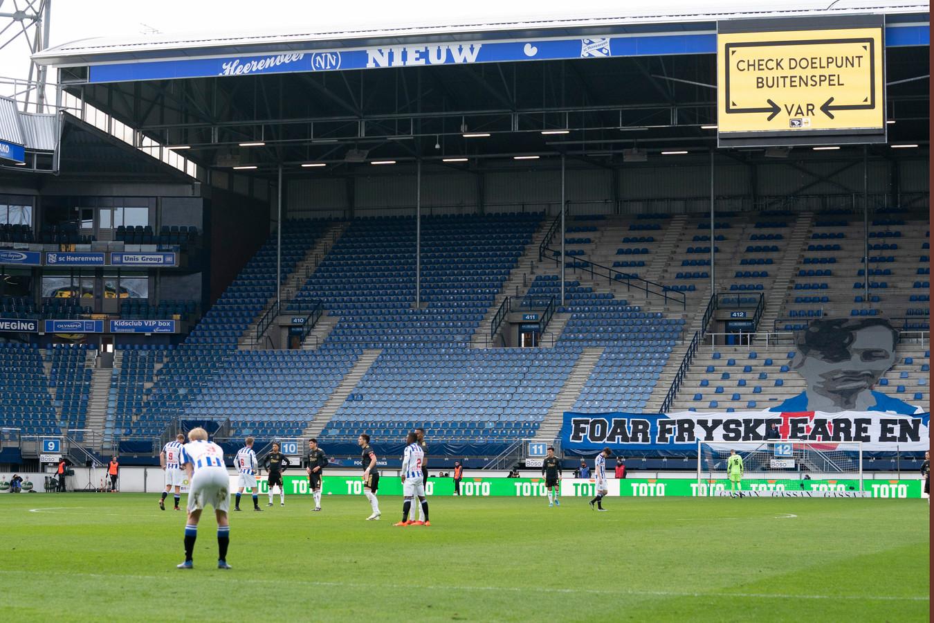 Het Abe Lenstra Stadion.