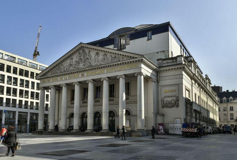 De renovatiewerken aan de Munt in Brussel zijn bijna klaar. Beeld photo_news