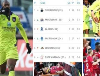 Okaka houdt Anderlecht op vier punten van Club na late winner