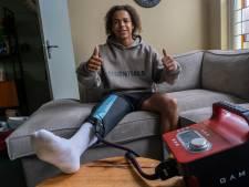 Na een 'momentje met zijn knie' durft Gianni Vandepitte weer vooruit te kijken