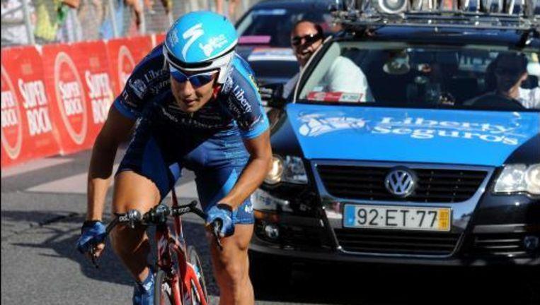 Hector Guerra liep tegen de dopinglamp. Hij was voorzien voor de tijdrit op WK in Mendrisio. Beeld UNKNOWN