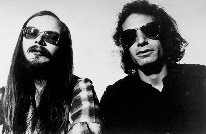 Walter Becker en Donald Fagen van Steely Dan (1978) Beeld Getty