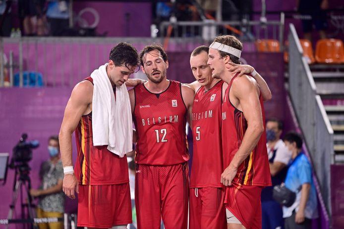 De Belgian Lions op de Olympische Spelen in Tokio.