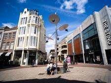 Sensor op nieuwe lichtmast gaat winkelend publiek tellen in Arnhems stadshart